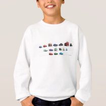 Disney Cars Lineup Sweatshirt