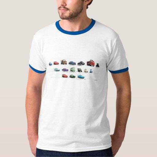 Disney Cars Lineup T-Shirt