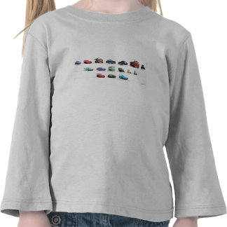 Disney Cars Lineup Tee Shirts