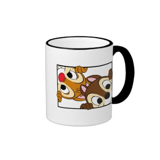 Disney Chip and Dale Mugs