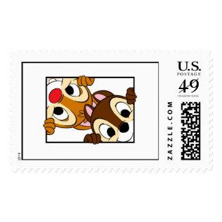 Disney Chip 'n' Dale Stamp