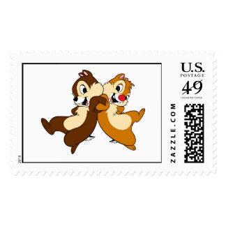 Disney Chip 'n' Dale Postage Stamp