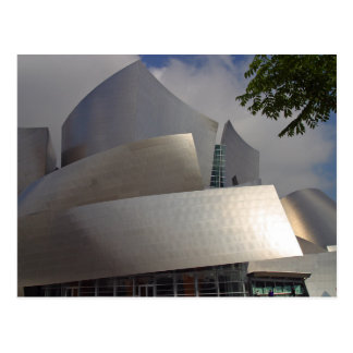 disney-concert-hall postcard