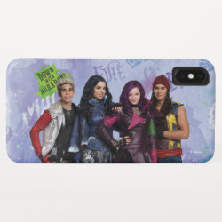 Case-Mate Barely There Apple iPhone XS Max Case with Descendants Down With Auradon! design