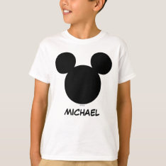 Disney Family Vacation - Mickey | Add Your Name T-shirt at Zazzle