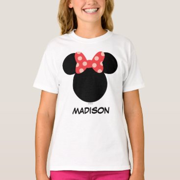 disney Disney Family Vacation - Minnie | Add Your Name T-Shirt