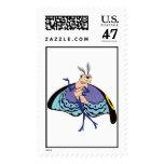 Disney gitano timbre postal