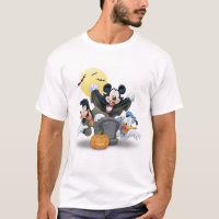 Disney Halloween Mickey & Friends T-Shirt