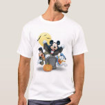 Disney Halloween Mickey y amigos Playera