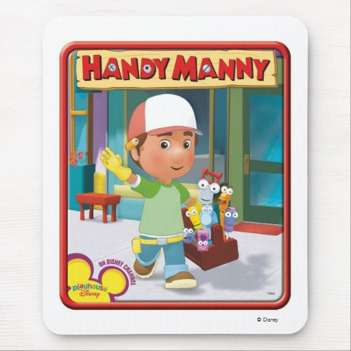 Disney Handy Manny and Tools Mouse Pad