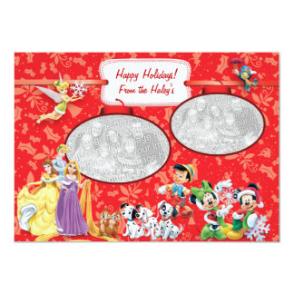 Disney: Holiday Card Announcements