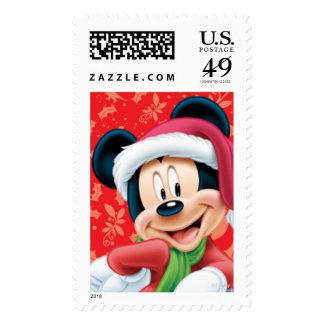 Disney: Holiday Mickey Postage
