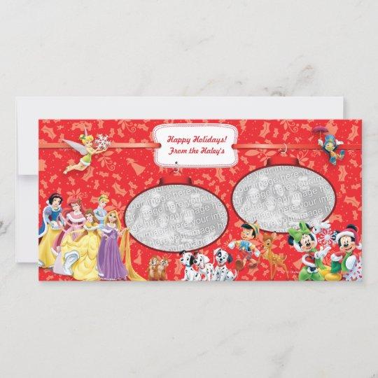 Disney holiday photo card zazzle disney holiday photo card m4hsunfo
