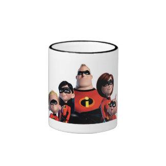 Disney Incredibles Family  Ringer Mug