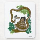 Disney Jungle Book Kaa with Mowgli Mouse Pad