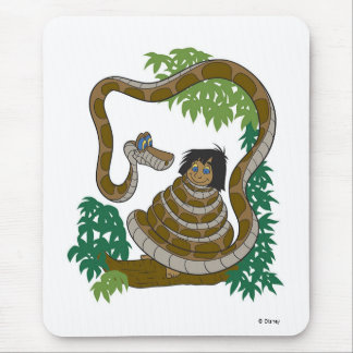 Disney Jungle Book Kaa with Mowgli Mouse Pad
