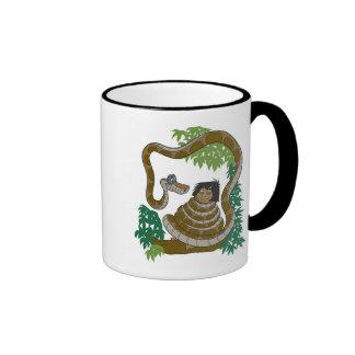 Disney Jungle Book Kaa with Mowgli Coffee Mug