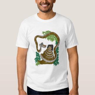 Disney Jungle Book Kaa with Mowgli T Shirt