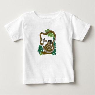 Disney Jungle Book Kaa with Mowgli T Shirts