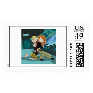 Disney Kim Possible Ron Stoppable Stamps