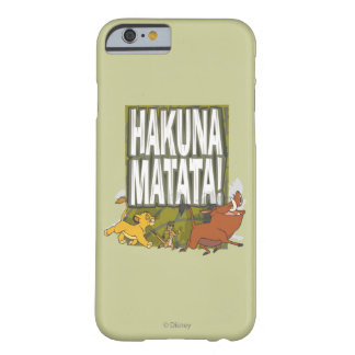 Disney Lion King Hakuna Matata! Barely There iPhone 6 Case