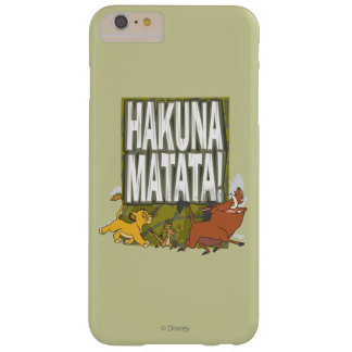 Disney Lion King Hakuna Matata! Barely There iPhone 6 Plus Case