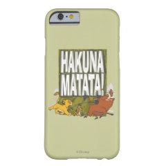 Disney Lion King Hakuna Matata! iPhone 6 Case