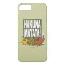 Disney Lion King Hakuna Matata! iPhone 8/7 Case