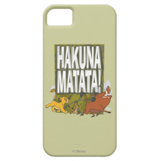 Disney Lion King Hakuna Matata! iPhone SE/5/5s Case