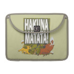 Disney Lion King Hakuna Matata! Sleeves For MacBook Pro