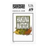 Disney Lion King Hakuna Matata! Postage
