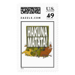 Disney Lion King Hakuna Matata! Stamp