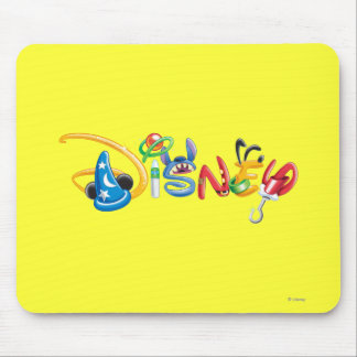 Disney Logo 1 Mousepads