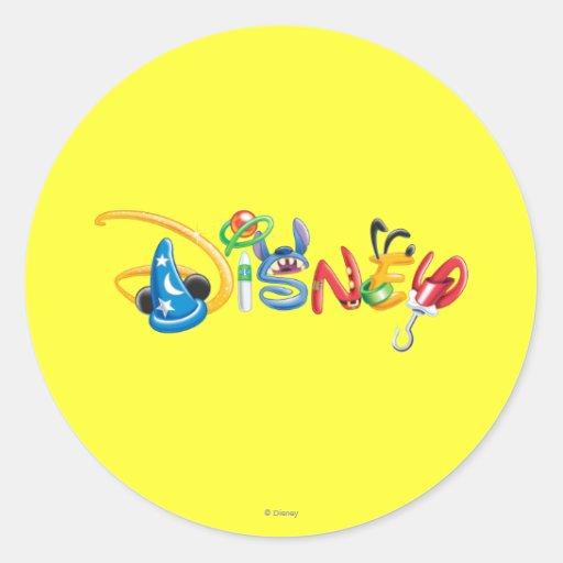 Disney Logo 1 Stickers