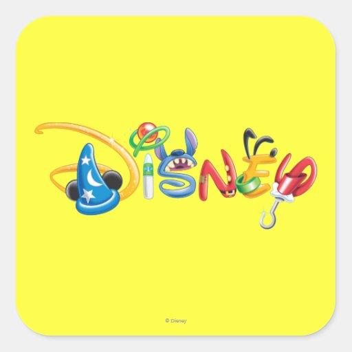 Disney Logo 1 Square Sticker