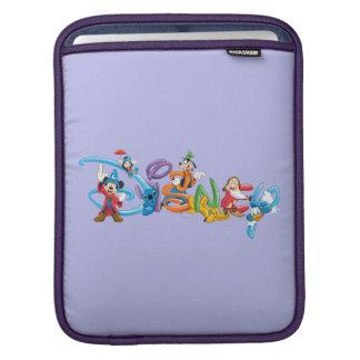 Disney Logo 2 Sleeve For iPads
