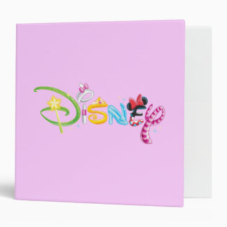 Disney Logo 3 Binders