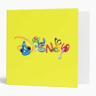 Disney Logo | Boy Characters 3 Ring Binder