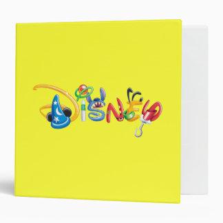 Disney Logo   Boy Characters 3 Ring Binder