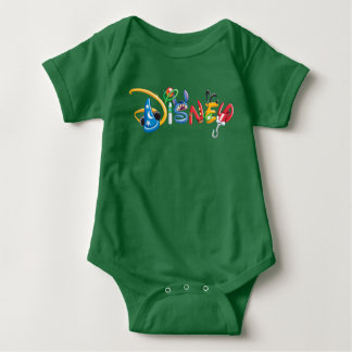 Disney Logo | Boy Characters Baby Bodysuit