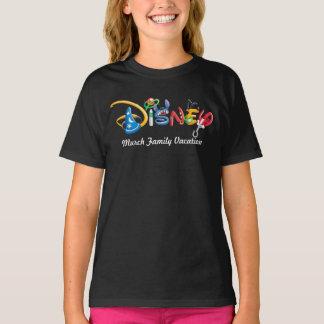 Disney Logo   Boy Characters - Family Vacation T-Shirt