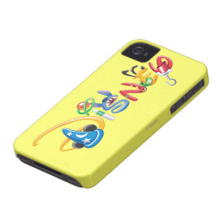 Disney Logo | Boy Characters iPhone 4 Case