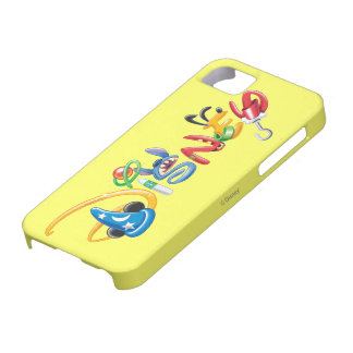 Disney Logo | Boy Characters iPhone SE/5/5s Case