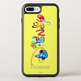 Disney Logo | Boy Characters OtterBox Symmetry iPhone 8 Plus/7 Plus Case