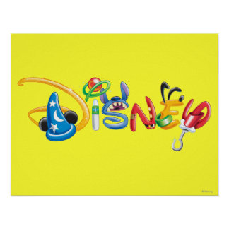 Disney Logo | Boy Characters Poster