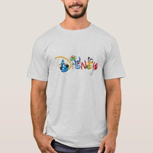 Disney Logo  Boy Characters T_Shirt