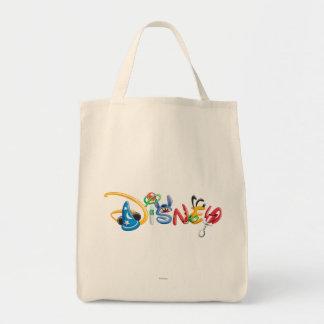Disney Logo   Boy Characters Tote Bag