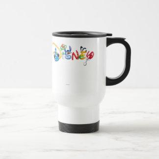 Disney Logo   Boy Characters Travel Mug