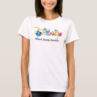 Disney Logo - Family Vacation T-Shirt