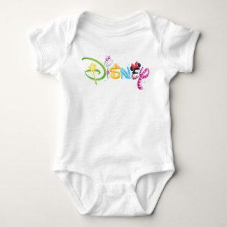 Disney Logo | Girl Characters Baby Bodysuit